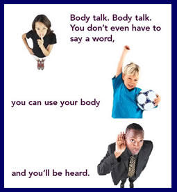 an analysis of the nonverbal communication let me hear your body talk