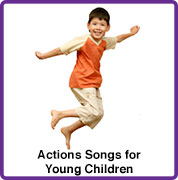 action songs for young children