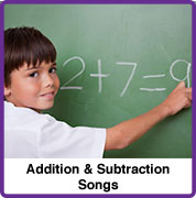Addition Subtraction Songs
