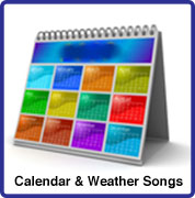 Weather & Calandar songs