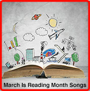 march is reading month songs