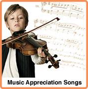 music appreciataion songs