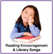 reading encouragement and library songs