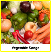 vegetable songs