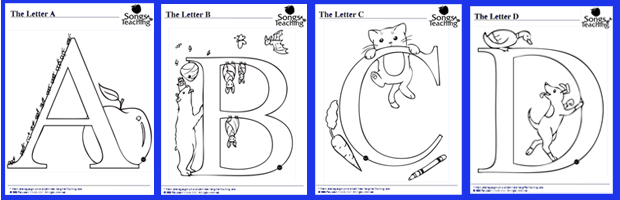 Alphabet Coloring Pages Pdf Alphabet Animal Coloring Pages Download Songs For Teaching .