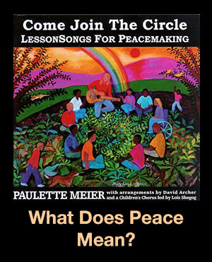 What Does Peace Mean? Song Download with Lyrics