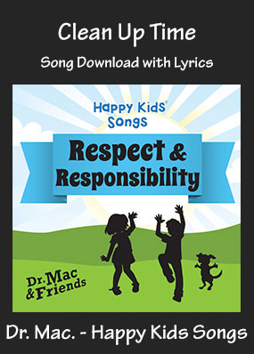 Clean Up Time Song Download with Printables