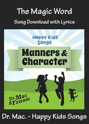 The Magic Word Song Download with Printables