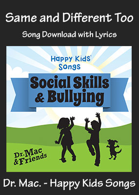 Same and Different Too Song Download with Printables