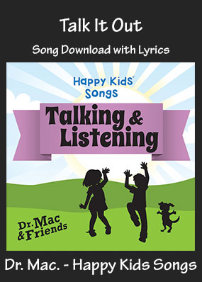 Talk It Out Song Download with Printables
