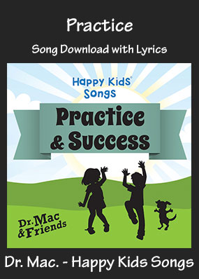 Practice Song Download with Printables