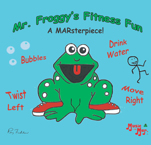 Mr. Froggy's Fitness Fun Music CD or Download