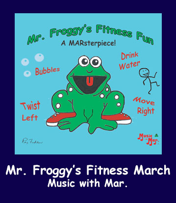 Mr. Froggy's Fitness March Song Download with Lyrics
