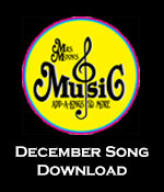 December Song Download Tracks with Printables
