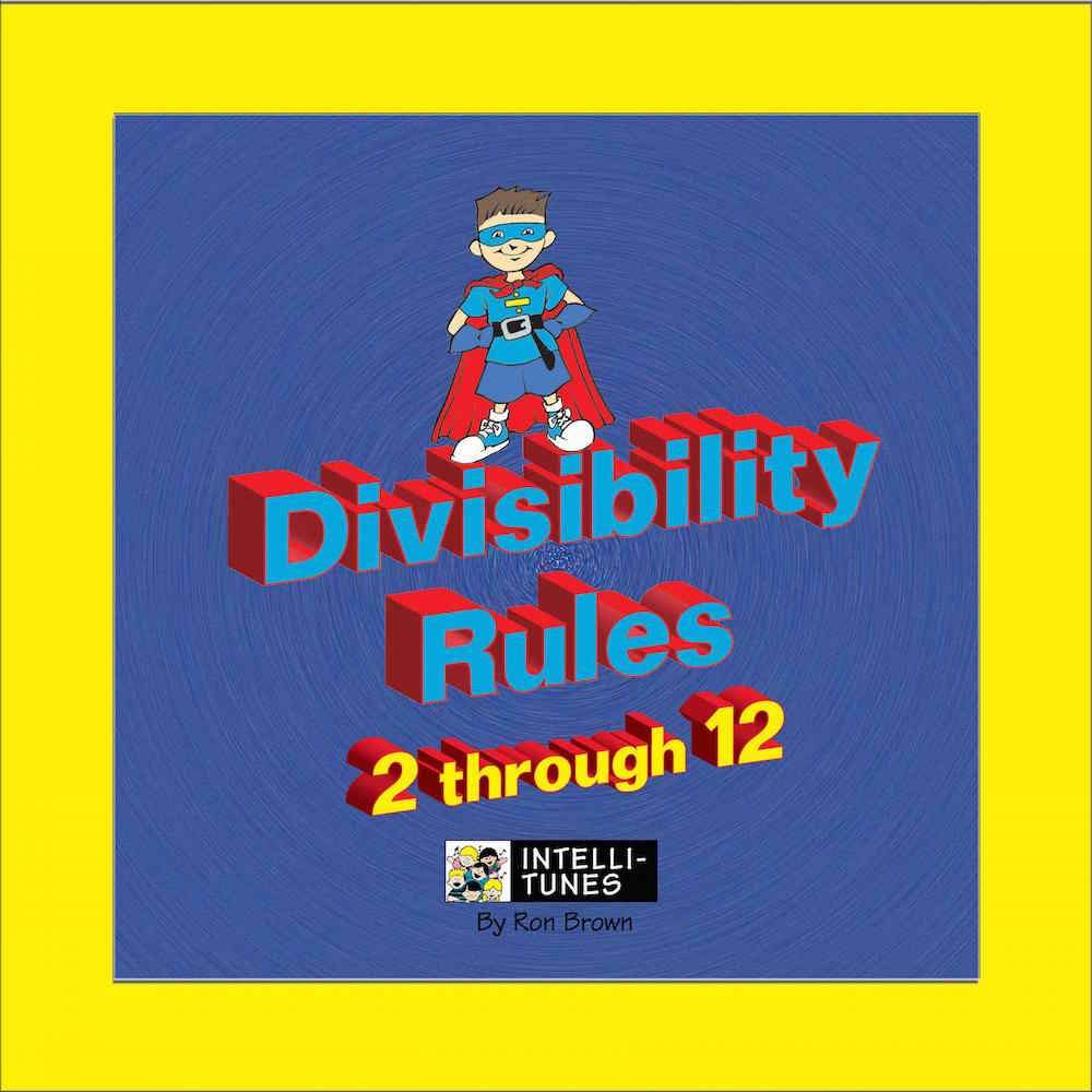 Intelli-Tunes: Divisibility Rules 2-12 CD