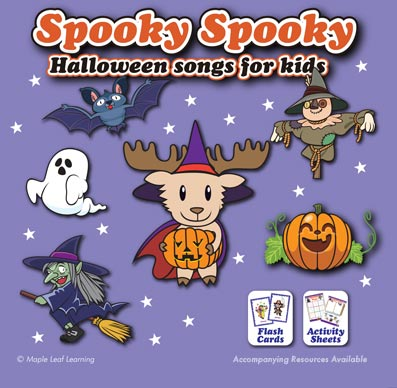 Spooky Spooky: Halloween Songs for Kids Album Download