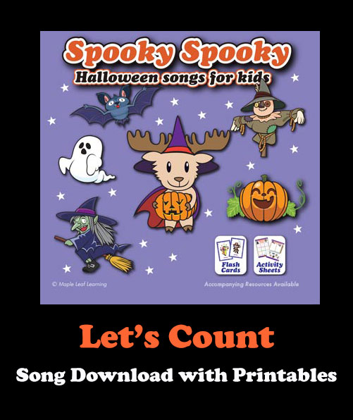 Let's Count Song Download with Printables