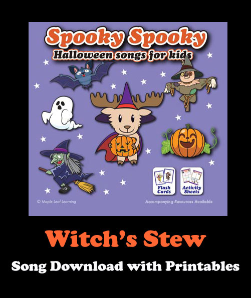 Witch's Stew Song Download with Printables