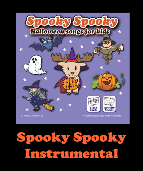 Spooky Spooky Instrumental Song Download with Printables