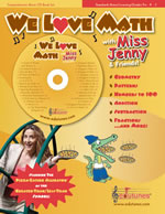 We Love Math with Miss Jenny CD and Book Kit
