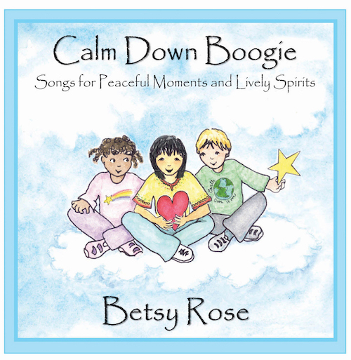 Calm Down Boogie CD with printable Lyrics