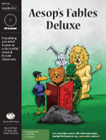 Aesop's Fables Deluxe Downloadable Musical Play with Printables