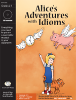 Alice's Adventures with Idioms Downloadable Musical Play with Printables