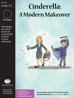 Cinderella: A Modern Makeover Downloadable Musical Play with Printables