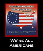 We're All Americans Song Download with Printables