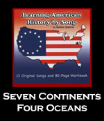 Seven Continents, Four Oceans Song Download with Printables