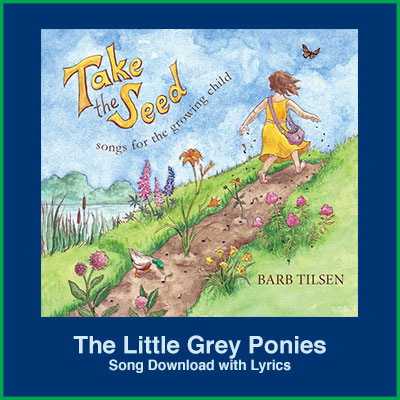 The Little Grey Ponies Song Download with Lyrics