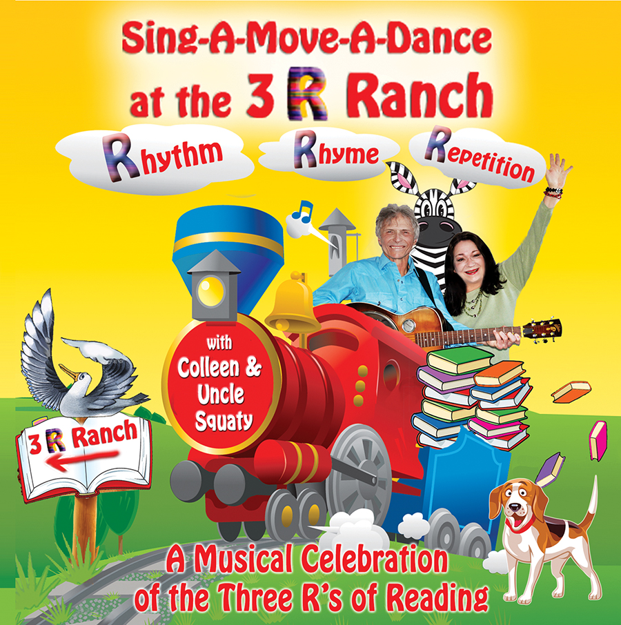 Sing-A-Move-A-Dance at the 3 R Ranch CD with Lyrics