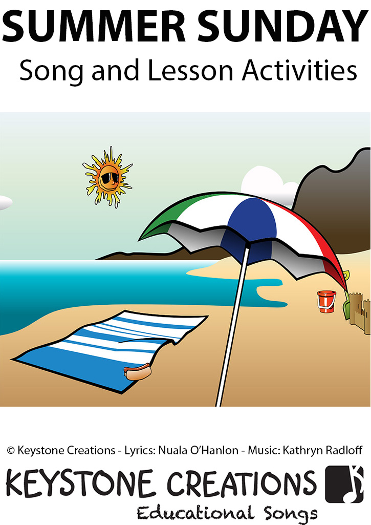 Summer Sunday Song Download with Lyrics & Lesson Materials