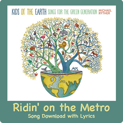 Ridin' on the Metro Song Download with Lyrics