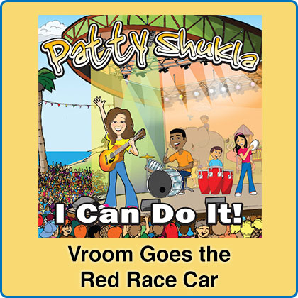 Vroom Goes the Red Race Car Song Download with Lyrics