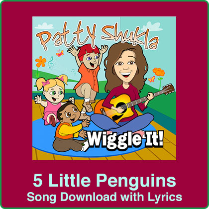 5 Little Penguins Song Download with Lyrics