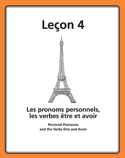Les pronoms personnels, les verbes  e_tre et avoir Song Download with Lyrics