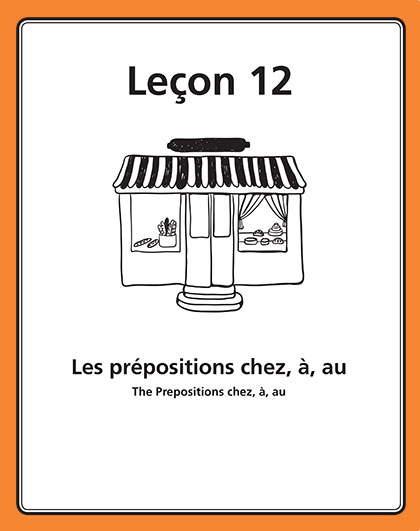 Les prepositions chez, a, au Song Download with Lyrics
