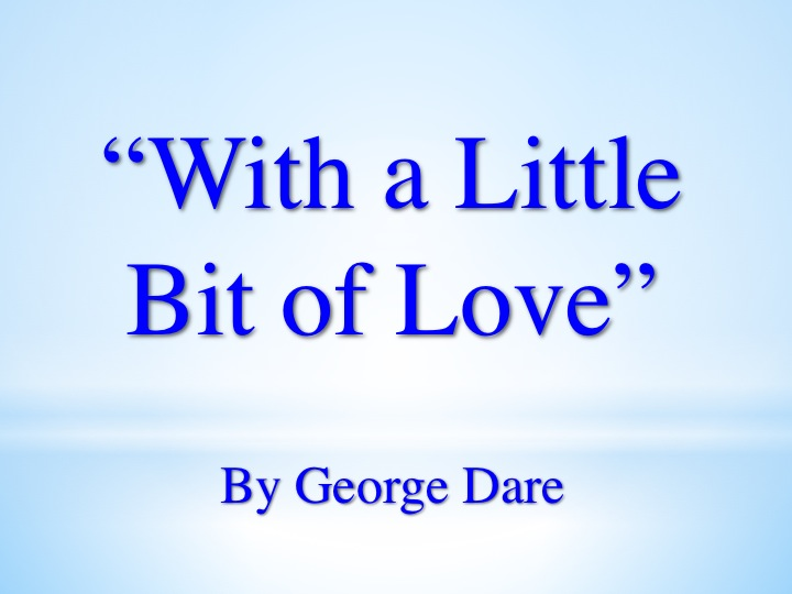 With A Little Bit Of Love Song Download with Lyrics