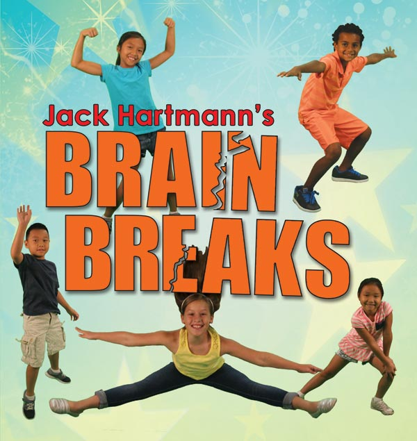 Jack Hartmann: Brain Breaks Music CD with Printable Lyrics