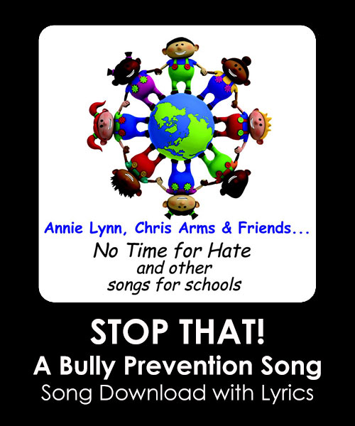 STOP THAT! - A Bully Prevention Song Download with Lyrics