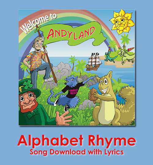 Alphabet Rhyme Song Download with Lyrics