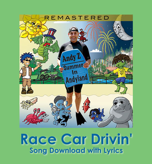 Race Car Drivin' Song Downoad with Lyrics