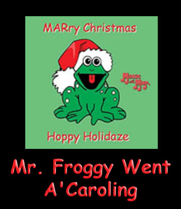 Mr. Froggy Went A'Caroling Song Download