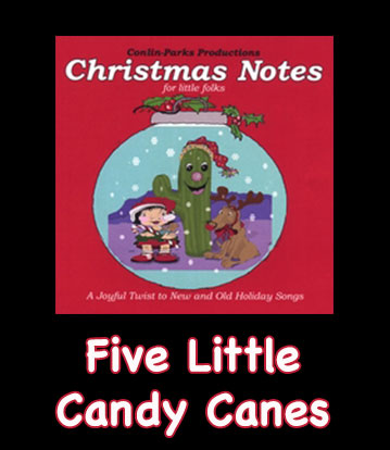 Five Little Candy Canes Song Download