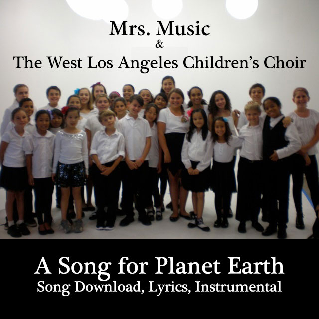 A Song For Planet Earth Downloadable Tracks with Lyrics