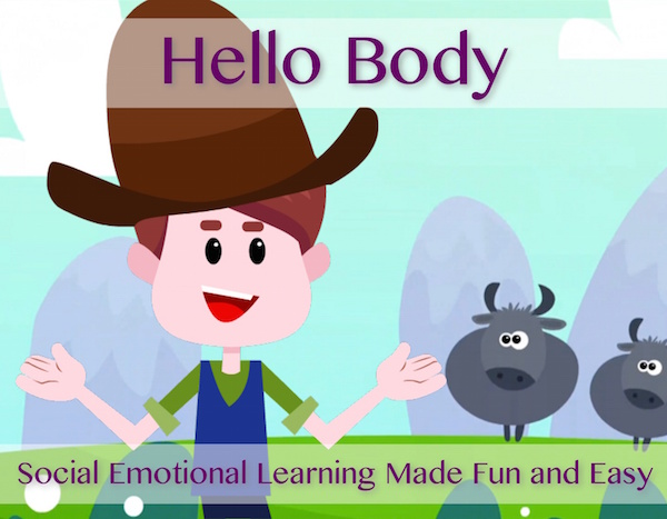 Hello Body Song with Lesson Module