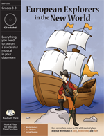 European Explorers in the New World Downloadable Musical Play