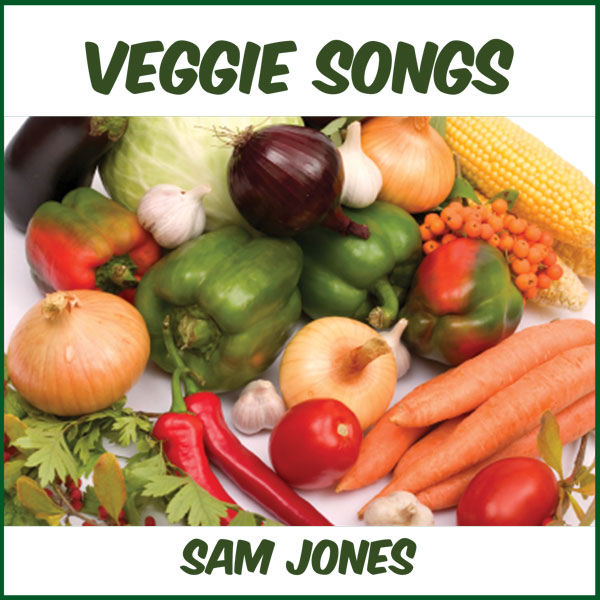 Veggie Songs Music CD with Lyrics