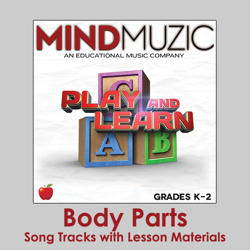Body Parts Downloadable Tracks with Lyrics and Quiz
